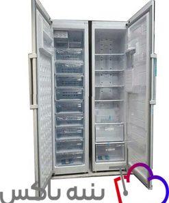 یخچال و فریزر دوقلوی الکترواستیل ES24AT